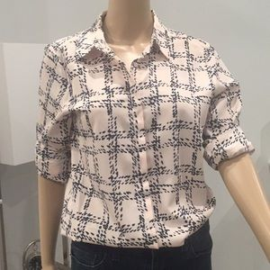 NEW KARL LAGERFELD, button down shirt size S